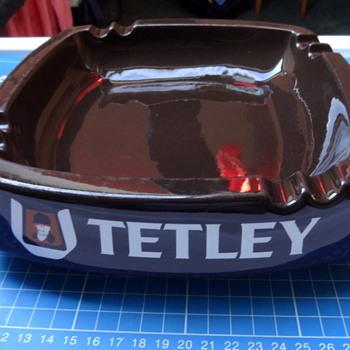 Tetley Special Pale Ale UK ceramic ashtray.  - Breweriana