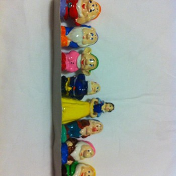 Snow White and the Seven Dwarfs Figurines