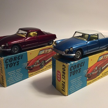 Corgi toys Citroen Le Dandy coupes - Model Cars