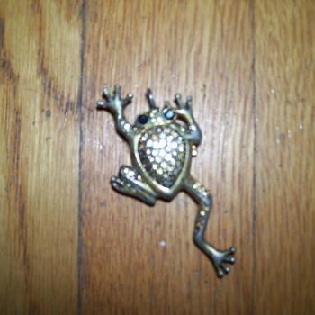 vintage xanadu frog watch necklace - Fine Jewelry