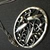 Pretty big Vienna Secession style pendant