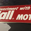 new old stock Kendall motor oil sign