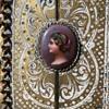 Duccio-style Frame with Santo Picture