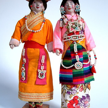 Some of my favorite national costume dolls - Dolls