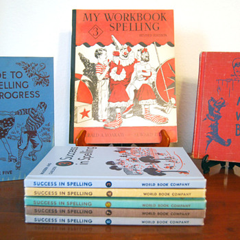 My Vintage Spelling Books - Books