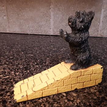 Toto Wizard of Oz door stop  - Animals