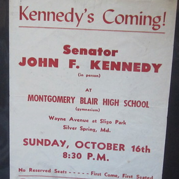 Kennedy Rally Brochure - Advertising