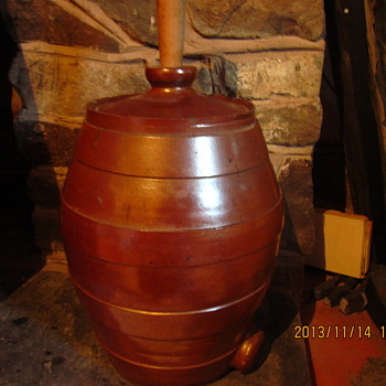 Old beer/cider barrell - Kitchen