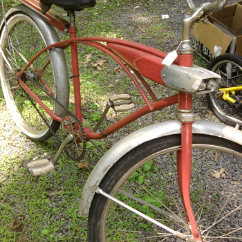 Is Pee Wee Herman missing his bike?  This was at a flea market... - Sporting Goods