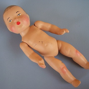 Baby Infant Doll Jointed Metal hooks - Dolls