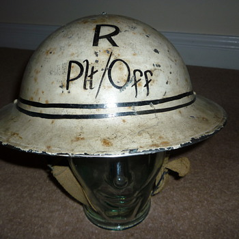 British WW11 Royal Air Force Rescue helmet