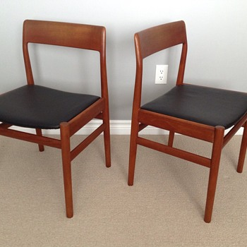 I love these danish teak chairs but…