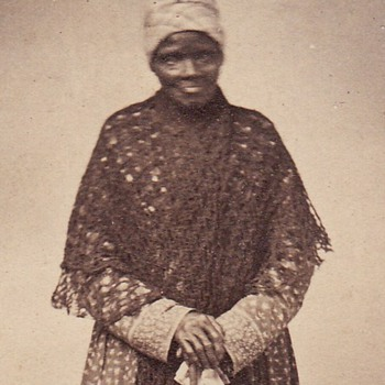 CDV of African American Servant c. 1862 - Photographs
