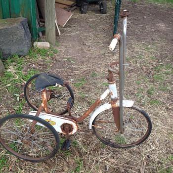 Trike cyclops vintage mild steel