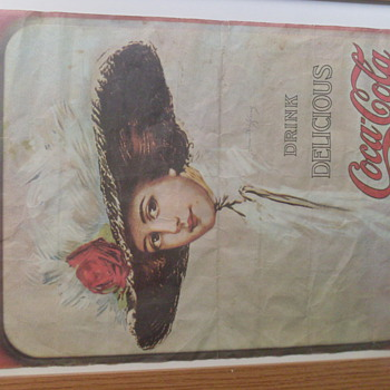 beautiful lady - Coca-Cola