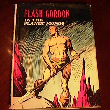 Today Goodwill Find! Flash Gordon The Planet Mongo Alex Raymond Book - Books