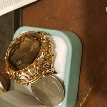 Smokey Quartz, 14k  - Fine Jewelry