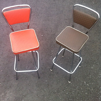 1950 swivel bar stools. - Furniture