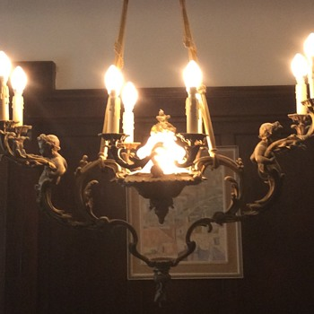 One of the kind Chandelier?