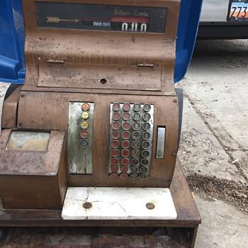 National Cash Register not sure how old