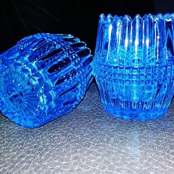 Bryce Higbee &Co toothpick holders - Glassware