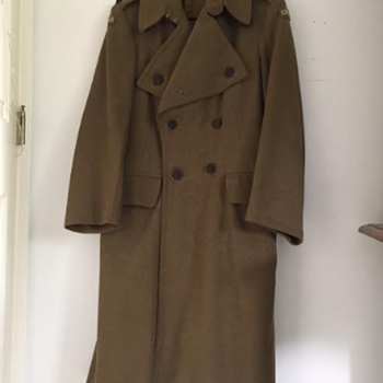 WWII Royal Winnipeg Rifles Officer's Greatcoat - Military and Wartime