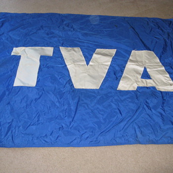 Old TVA Flag - Military and Wartime