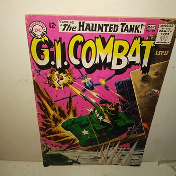 G.I. Combat - Comic Books