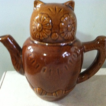 Owl Teapot - China and Dinnerware