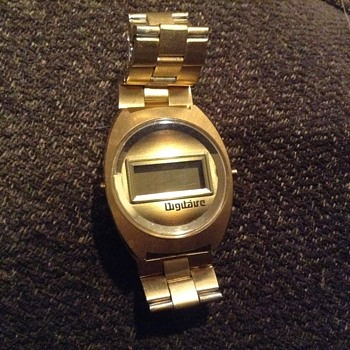 VINTAGE LED WATCH DIGITAURE - Wristwatches