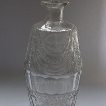 Georgian Barrel Shaped Spirit Bottles
