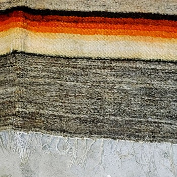 Mexican Saltillo blanket - Rugs and Textiles