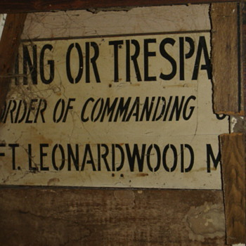 Interesting sign in wall.... - Signs