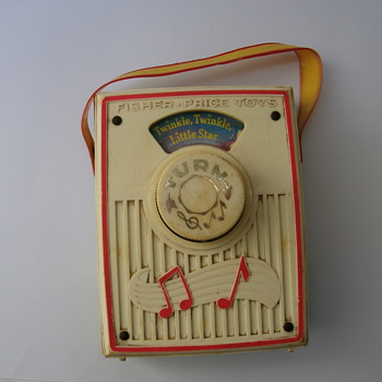 Vintage Children Music Box. - Toys