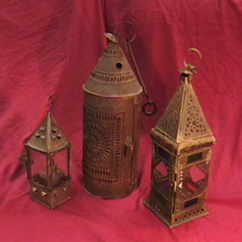 Early Tin Lanterns - Lamps