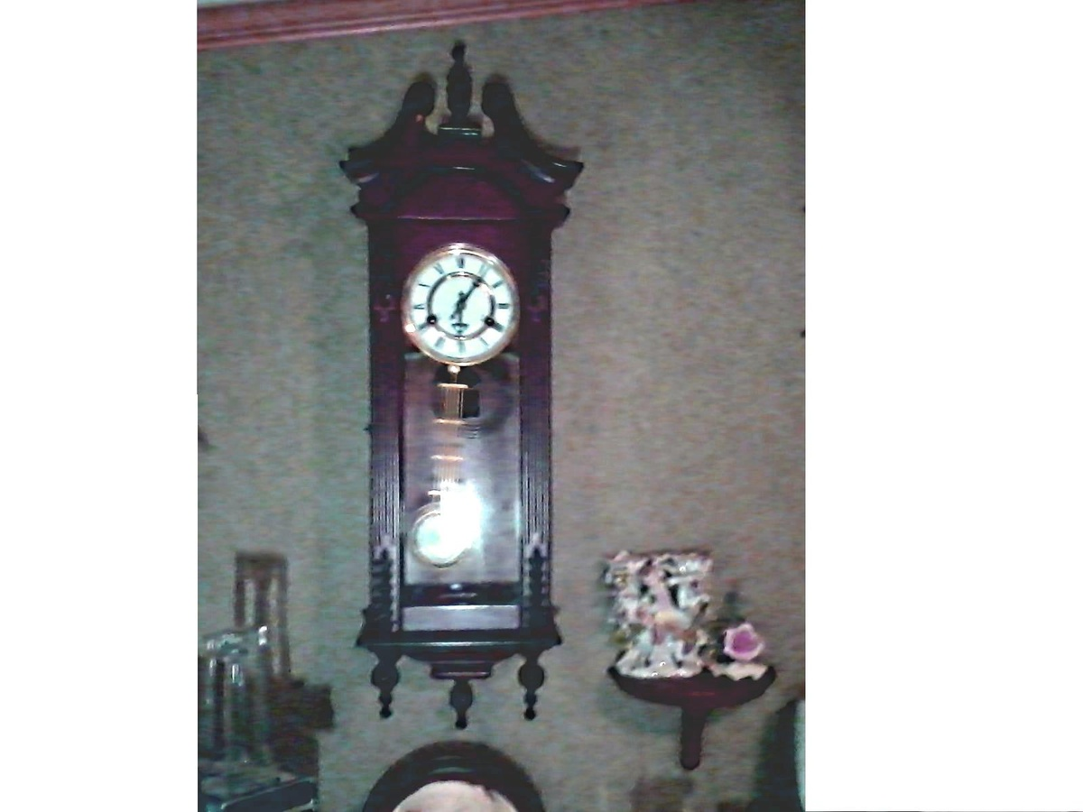 R a pendulum 31 day wall clock hour and half hour chime possibly r a pendulum 31 day wall clock hour and half hour chime possibly korean made unknown age collectors weekly amipublicfo Image collections