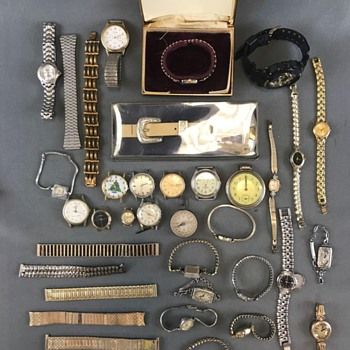 My days of Estate Auction Browsing Are Full Of Goodies - Pocket Watches