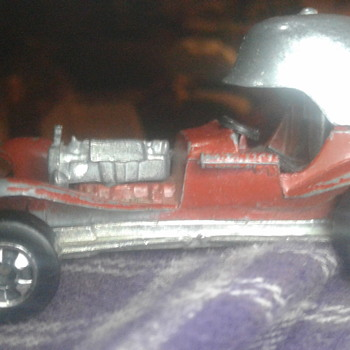 RED BARON HOT WHEEL [Number 6400] - Model Cars