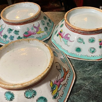 Four Chinese Bowls - Asian