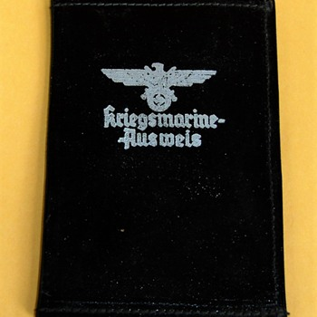 German Navy Document Holder - Military and Wartime