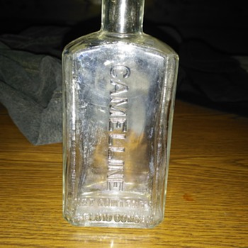 Camelline 4 fluid ounce clear bottle - Bottles