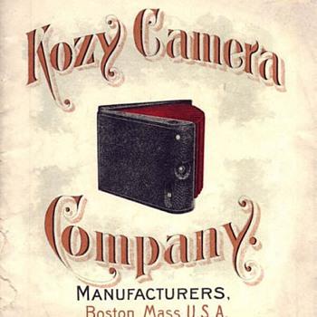 1890s Kozy Cameras: A Bookform Design - Cameras