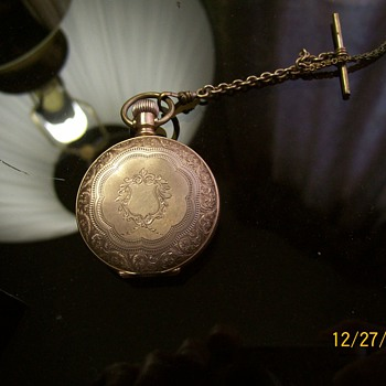 NEED INFO. ON POCKET WATCH - Pocket Watches