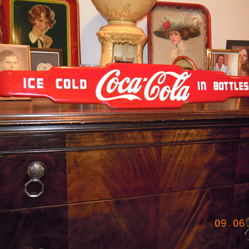 1959 Coca-Cola Push Bar - Coca-Cola