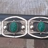 beautiful,rare,Vintage, Hand crafted, Taxco Silver Bracelet 4 panels with carved masks