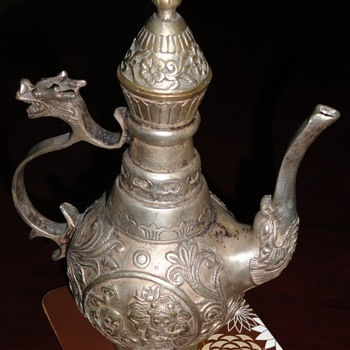 Chinese teapot from the Silk Road