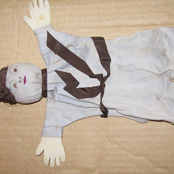 vintage cloth dolls - what era? - Dolls