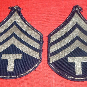 WW2 E-5 TECH SGT. STRIPES? - Military and Wartime