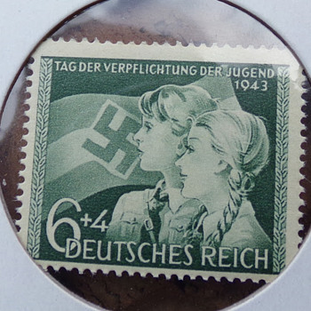 2 More Nazi Stamps  - Stamps