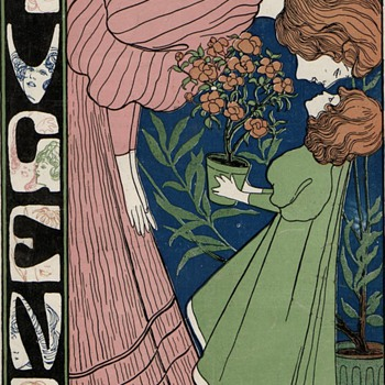 Josef Witzel 1896 Jugend Illustrated Cover - Art Nouveau